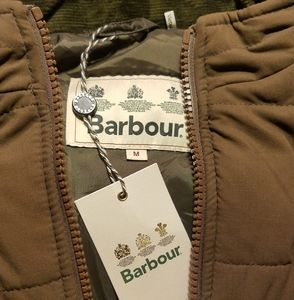 NWT Barbour Quilted vest